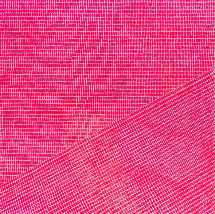 bright pink painting
